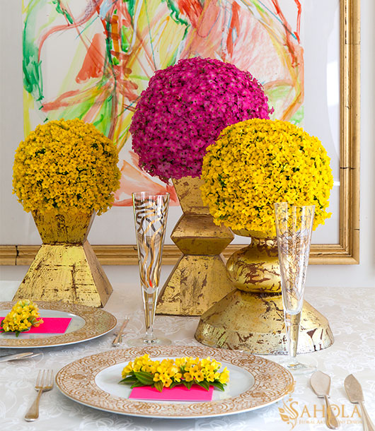 Olga Sahraoui - Event floral design in NYC, Manhattan, Gramercy, Nomad & Murray Hill