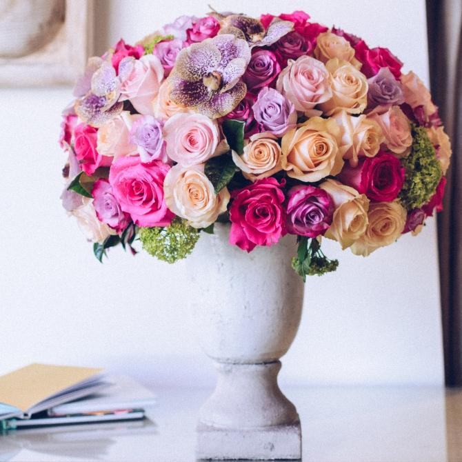 kaleidoscope of roses
